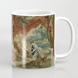 Resting Diana, from the Triumph of the Gods Coffee Mug