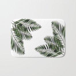 Tropical Exotic Palm Leaves I Bath Mat