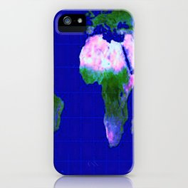 World Map : Gall Peters iPhone Case