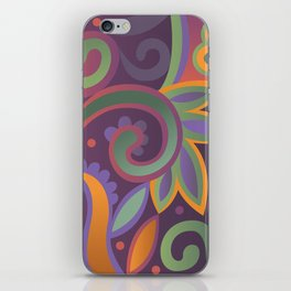Summer leaves, heavy scented iPhone Skin