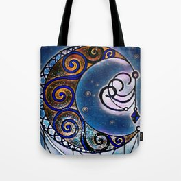 Moon swirl dreamcatcher Tote Bag