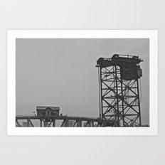 bridgehouse Art Print