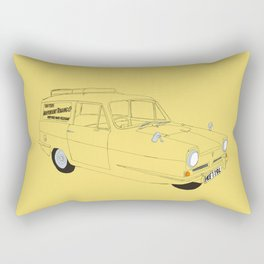 Only Fools and Horses Robin Reliant Rectangular Pillow