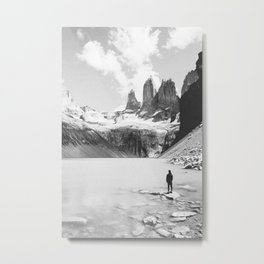 TORRES DEL PAINE / Chile Metal Print