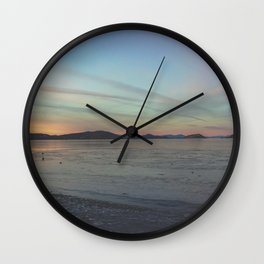 Chemtrails vs Color Wall Clock