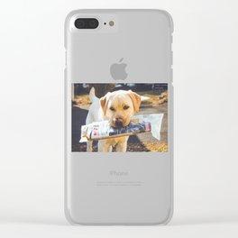 Paper Boy 2 Clear iPhone Case