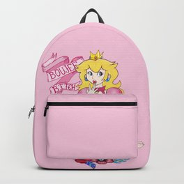 BAD AND BOUJEE Princess Peach Backpack