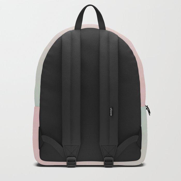 Yin Yang Watercolor Esoteric Symbol teal and soft pink #yinyang Backpack