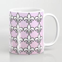 Fleur De Lis....Purple,pink Coffee Mug