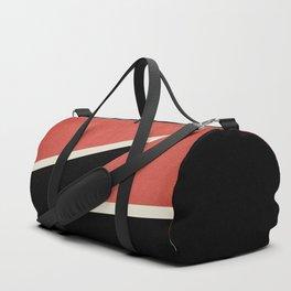 Three colors geometry Duffle Bag