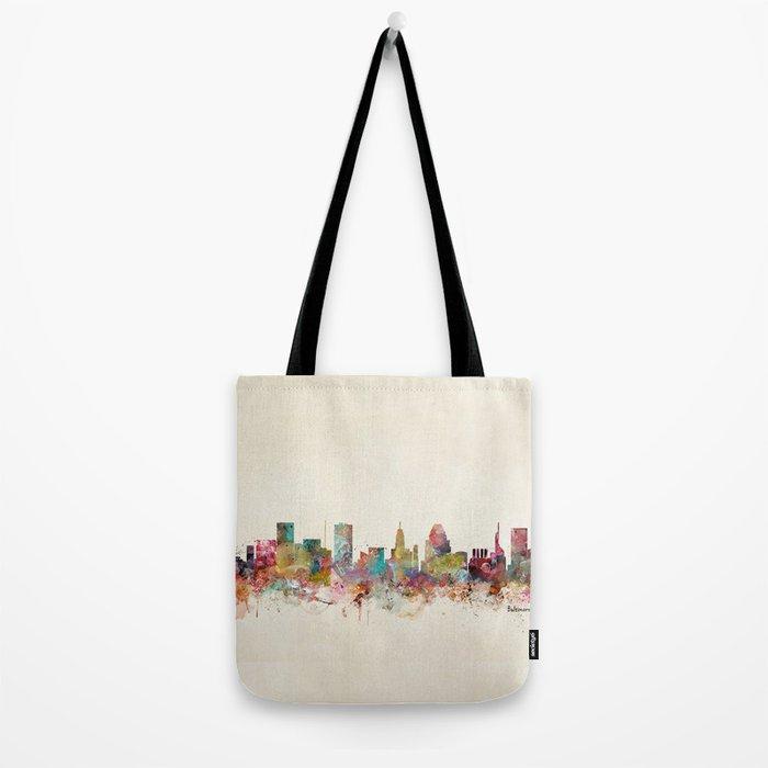 baltimore maryland Tote Bag