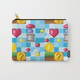 Analog video game seamless pattern Carry-All Pouch