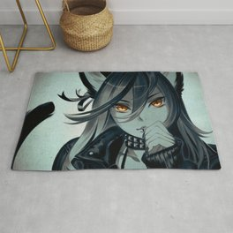 Leather Cat Rug