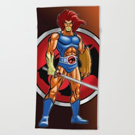 Lion Thundercats Beach Towel