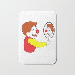 The clown Bath Mat