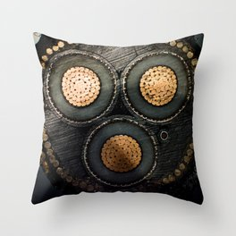 Data Cable Throw Pillow