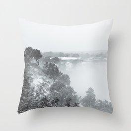 Black & White (1 of 7) Throw Pillow