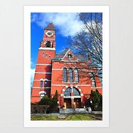 Abbot Hall, Marblehead, MA Art Print