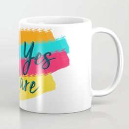 Hell Yes I Care - Proceeds Benefit United We Dream Coffee Mug