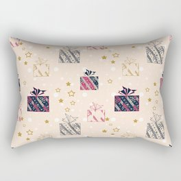 Festive design. Gifts . Rectangular Pillow