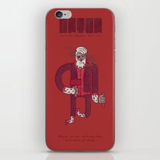 Anton, The Valentine's Yeti iPhone Skin
