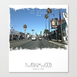 Los Angeles #01 Canvas Print