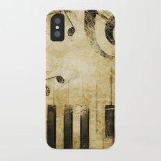 VINTAGE MUSIC Slim Case iPhone X