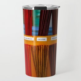 Colorful Incense Sticks Travel Mug