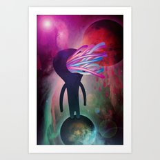 spappa_nell'universo Art Print