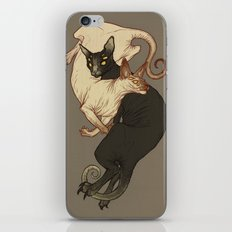 Monster Kitties iPhone & iPod Skin