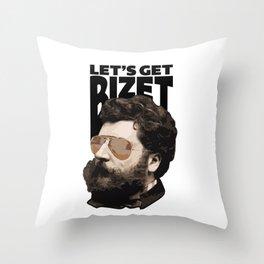 Let's get Bizet Throw Pillow