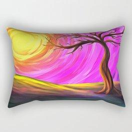 Sunny Tree Rectangular Pillow