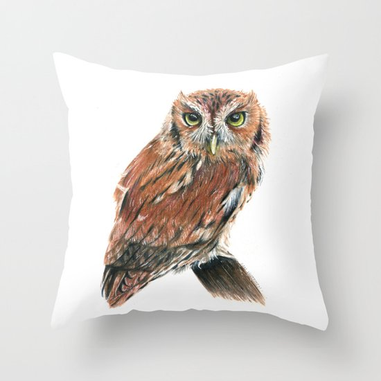 Screech Owl by silverstarsammy