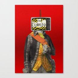 Content X1 Canvas Print
