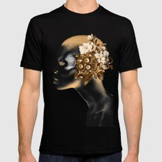 PORTRAIT 5 MEDIUM Black Mens Fitted Tee