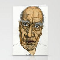 allyson johnson Stationery Cards featuring Wilko Johnson by Paul Nelson-Esch Art