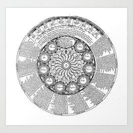 The Screene of Fortune Art Print