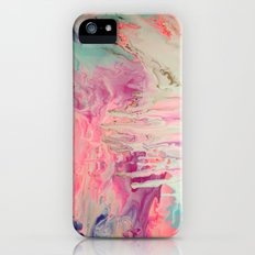Pink Polar Castle  iPhone (5, 5s) Slim Case