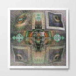 DMT Visuals #3 Metal Print