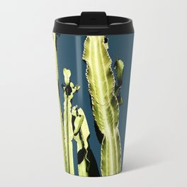 Cactus - blue Travel Mug
