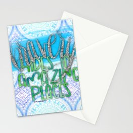 Bravery Hides In Amazing Places (The One) Stationery Cards