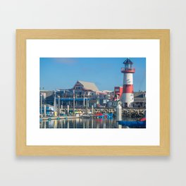 Oceanside Harbor Framed Art Print