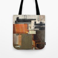 kit king Tote Bags featuring KIT by Paul Prinzip