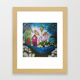 Twilight & Whimsy Framed Art Print