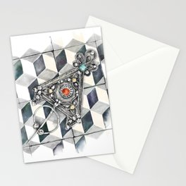 Moroccan Berber fibula Stationery Cards