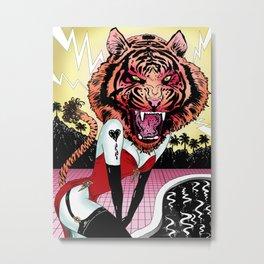 Oh, Tiger! Metal Print
