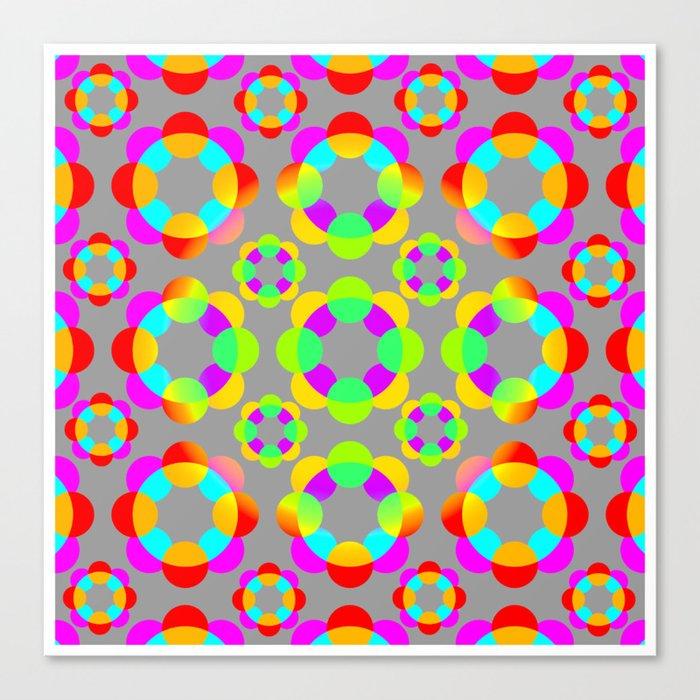atomo Canvas Print