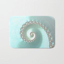 Fractal Ocean Wave Bath Mat