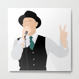 Gord Downie Metal Print
