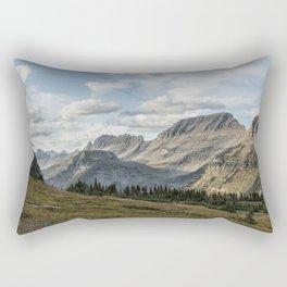 Looking Towards Bishops Cap and Mt Gould Rectangular Pillow
